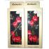 """RuSocks Колготки в коробке для девочек """"стразы, розы"""" темно-серый меланж Арт.ДК-3136"""