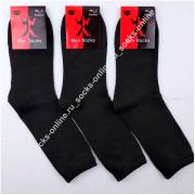 Носки мужские бамбуковые черные