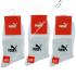 Носки женские средней высоты, спортивные, белые, PU