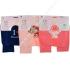 Детские колготки для новорожденных, хлопок, Роза 9919