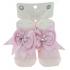 Носки с пришитым бантиком, для новорожденных, хлопок, Турция