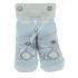 """Носки с рисунком """"Мишка"""", для новорожденных, хлопок, Турция"""