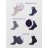 Набор мужских носков в подарочной коробке - 6 пар, DMDBS